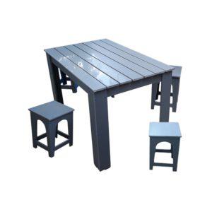 Masa cu scaune pentru gradina din PVC